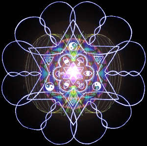 12 DnA Strand Heart Soul Star - Superluminally Spinning Merkaba & With Di-Polar Fields Overlaid