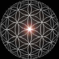 Spherized Flower of Life Pattern {2-d Rep of Omni-Dimensional 'Master Key Template of Divinity'}