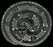 Celtic Representation of Serpent