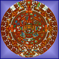 Aztec/Mayan Calendar Stone {Click For Full Size}