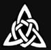 Celtic Triangular Knot Stencil