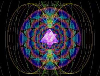 The Unified Field of  Creation & Completion - The Diamond Light Star of David Soul Star Tetrahedron Merkaba + 12 Petaled Lotus & Bio-Electromagnetic Energy Fields