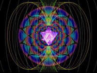 Merkaba Spinning At Super-Luminal Speed Surrounded By Bio-Electromagnetic Fields